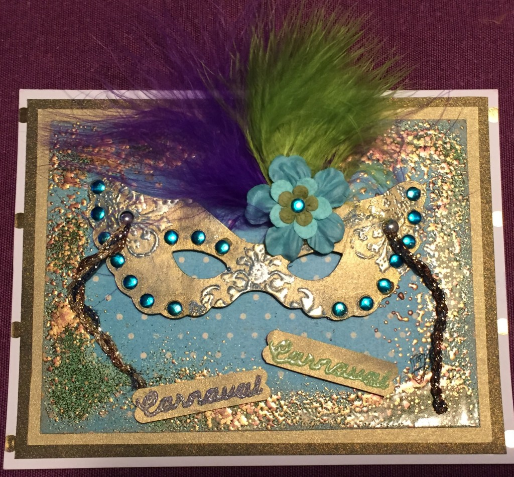 Carnaval - Mardi Gras card